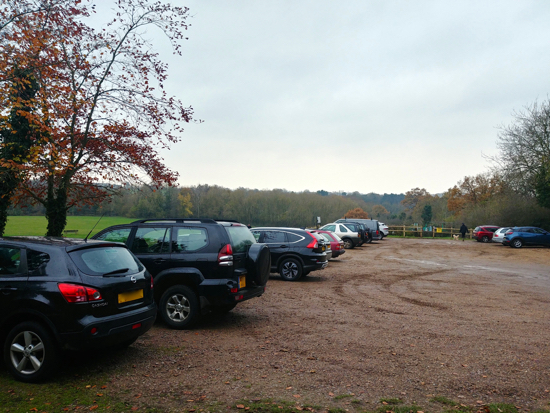 Image: Gobions car park at 10am on a Saturday morning Image by North Mymms News released under Creative Commons BY-NC-SA 4.0