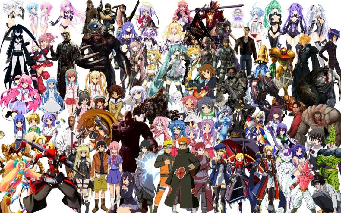 Perbedaan Karakter Komik Jepang Vs Comic Amerika