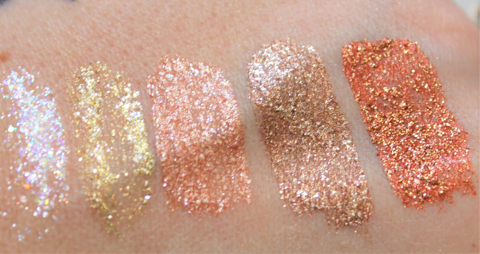 Pixi Liquid Fairy Lights Swatches & review