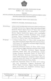 Juknis Pembayaran Tunjangan Kinerja (Tukin) Guru PNS Madrasah