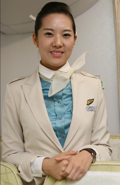 The Uniform Girls: [PIC] Korean Air hostess 2