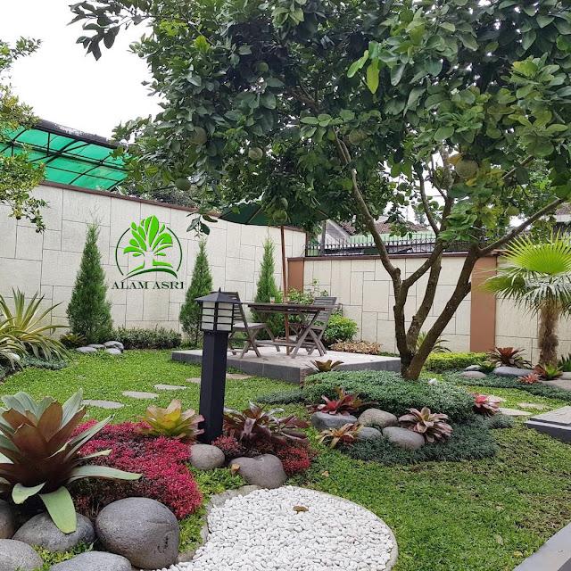 Taman minimalis surabaya