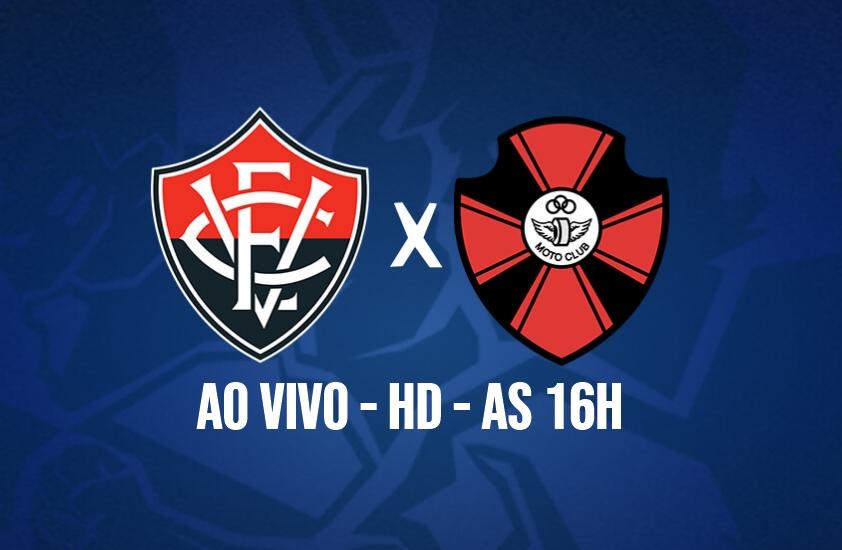 Assistir online Vitória x Moto Club ao vivo HD pela Copa do Nordeste 1