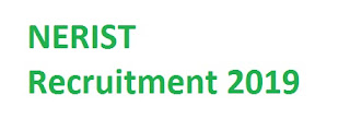 NERIST Recruitment 2019-at www.nerist.ac.in 02 Project Fellow, Field Attendant Vacancies | Application Form