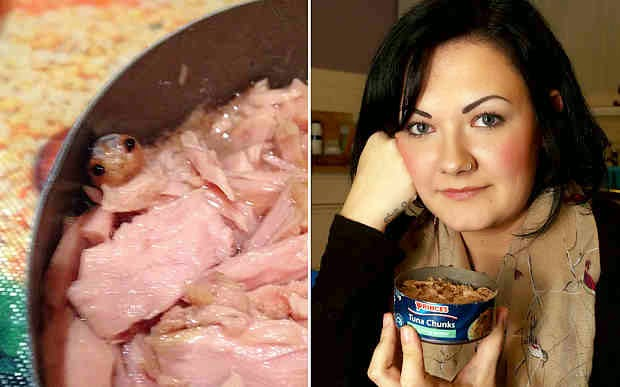 British woman named Zoe Butler opened the can of Prince tuna
