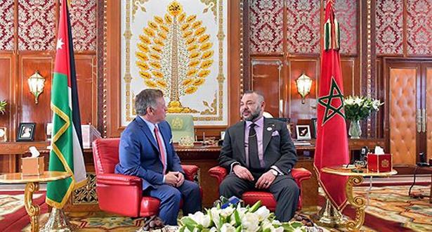 العاهل الأردني يحل بالدار البيضاء في زيارة صداقة وعمل للمغرب