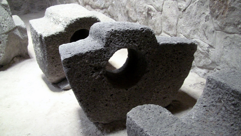 The stonework found in the ruins of Wari empire