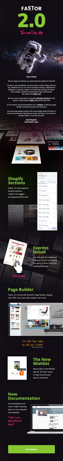 Fastor 2.0 Premium Shopify Theme Nulled - Shopify Booster