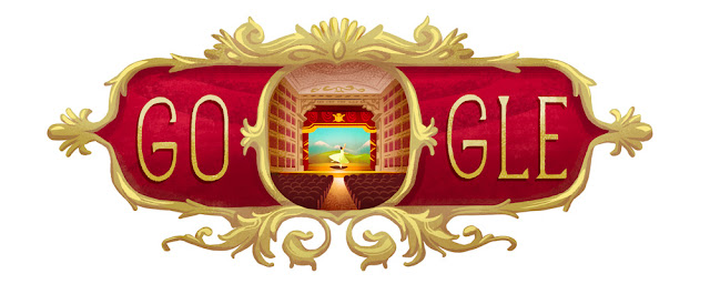 238th Anniversary of the inauguration of Teatro Alla Scala - Google Doodle