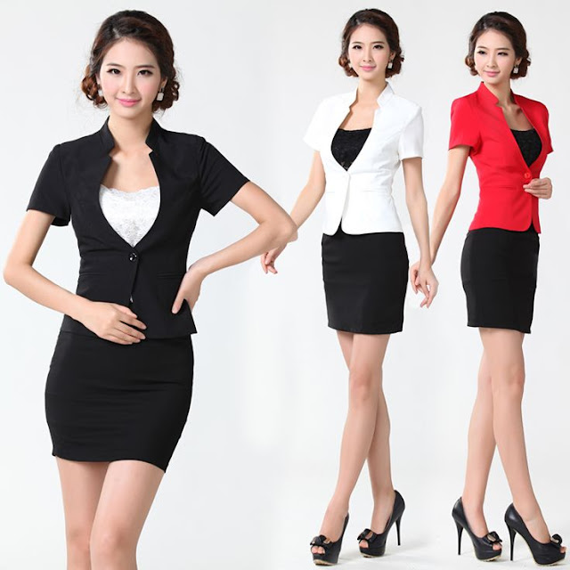 Plus Size Skirt Suits for Women