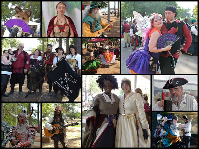 Texarkana Renaissance Faire Cast