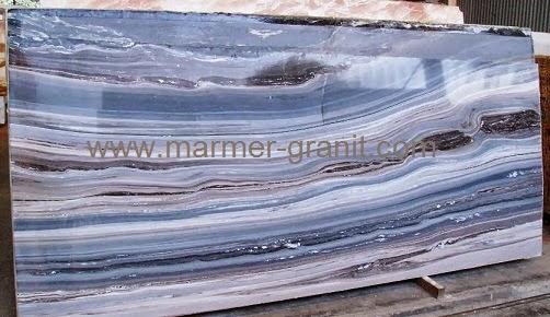 Palissandro Bronzo Marmer Warna Biru