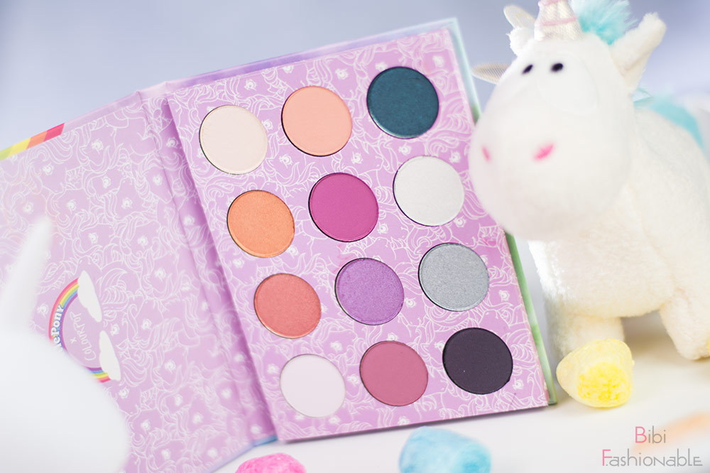 ColourPop My little Pony Pressed Powder Shadow Palette offen stehend