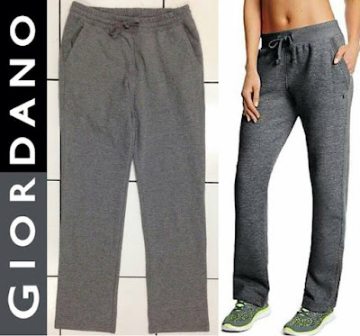 GIORDANO Slim Leg Sweatpants