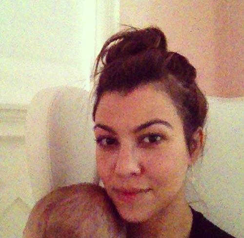 Penelope Disick Fashion blog: Kourtney Kardashian instagram - photo#32