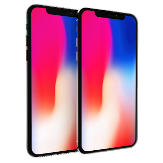 iphone x maquette mobile