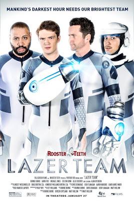 Lazer Team Poster