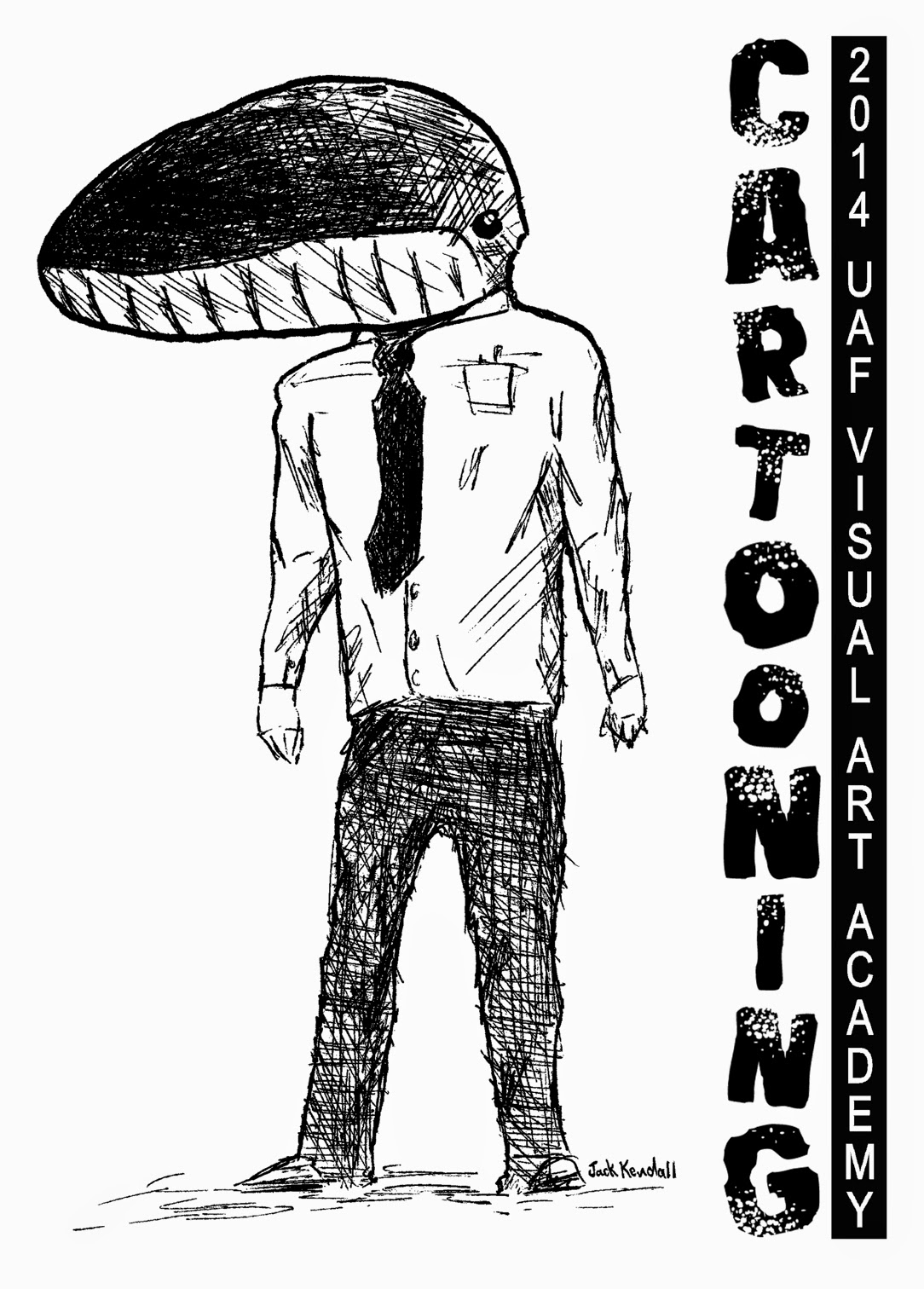 Ink & Snow: 2014 UAF Visual Art Academy: Cartooning!