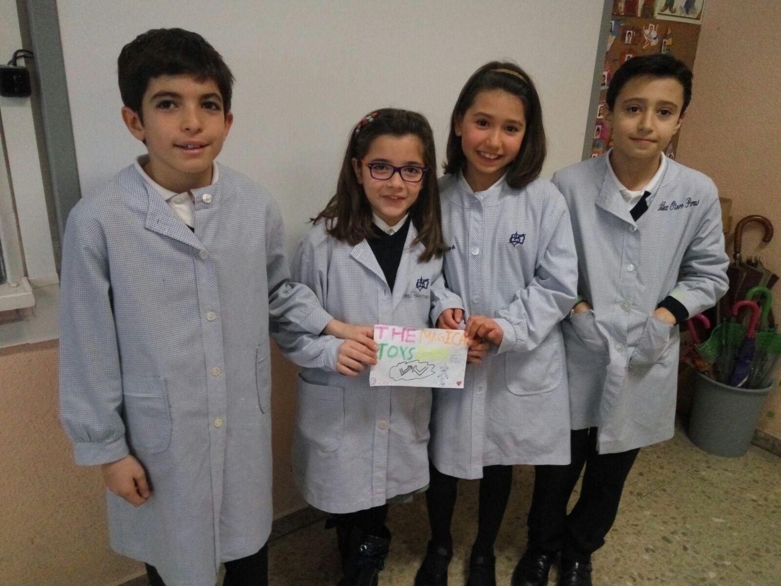 Agustinas Valladolid 2017 - Primaria 4 - English Grammar 2