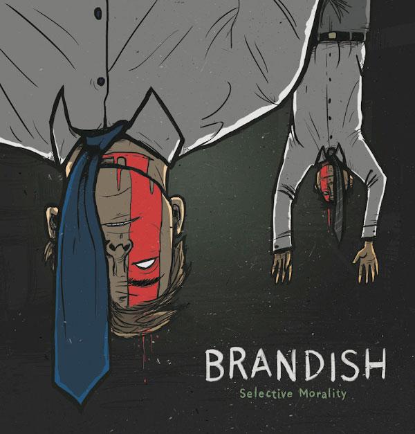 "Brandish stream new EP ""Selective Morality"""