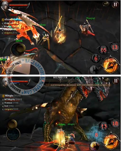 download game Darkness Reborn Apk Versi hack Mega Mod(Speed, Damage and God Mode)