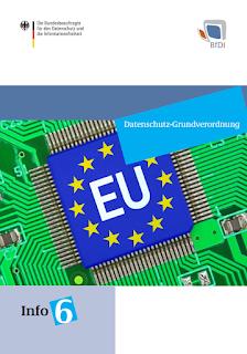 BfDI-Informationsbroschüre zur EU-DSGVO