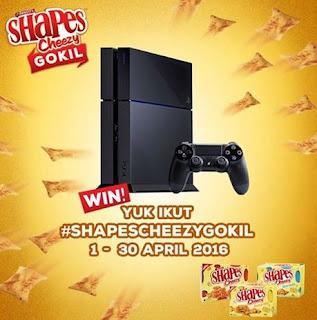 Kontes Video Shapes Cheezy Gokil Berhadiah Play Station 4 dan Smartphone