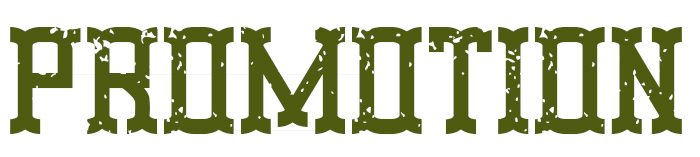 Promotion Font