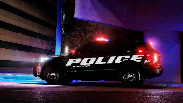 New Ford Police Interceptor Utility