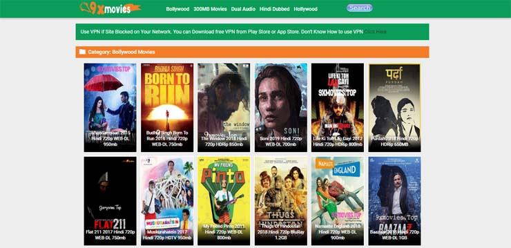 hindi movies website