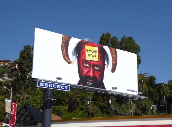 Your Pretty Face is Going to Hell midseason 3 billboard