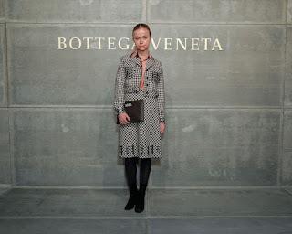 Amelia Windsor At Bottega Veneta Show At New York Fashion Week 2018