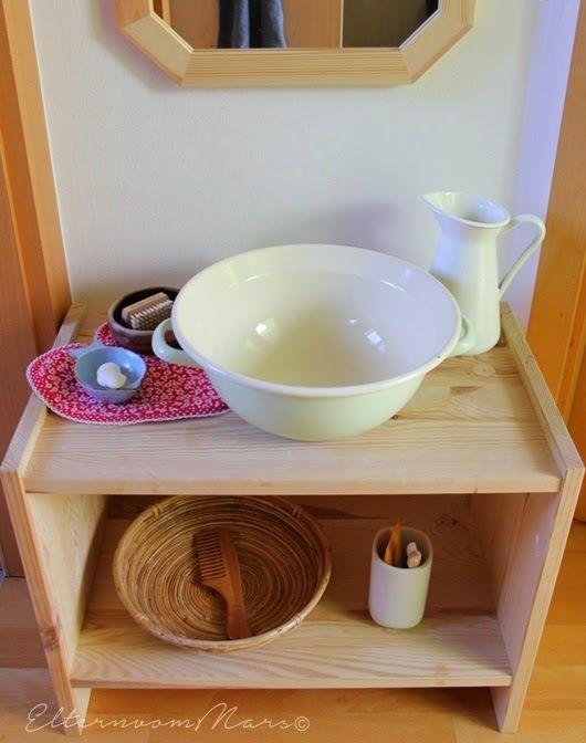 Ejemplo de baño Montessori