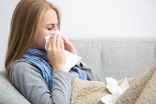 mama ziek griep verkouden verkoudheid