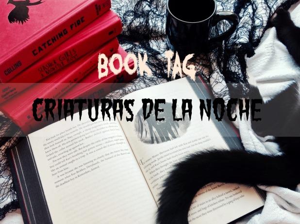book tag criaturas de la noche