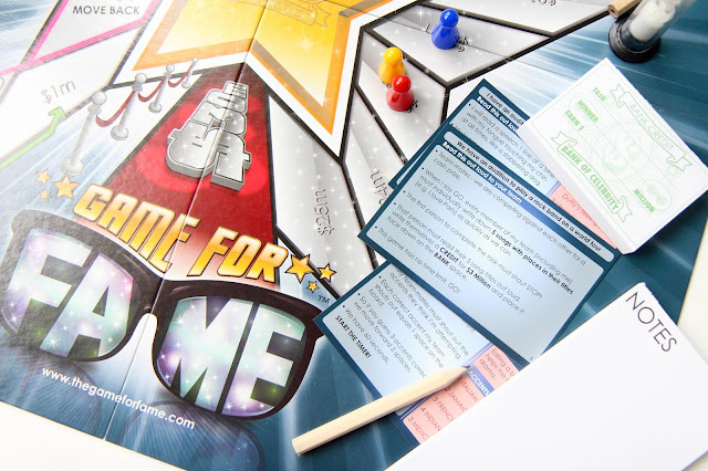 Game for Fame Board Game Review