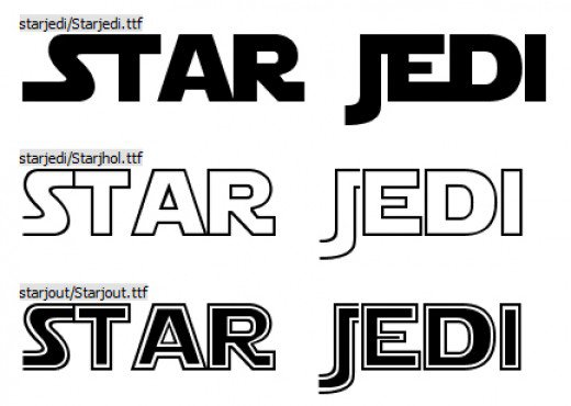 Star Wars: Free Download Fonts  - Oh My Fiesta! for Geeks