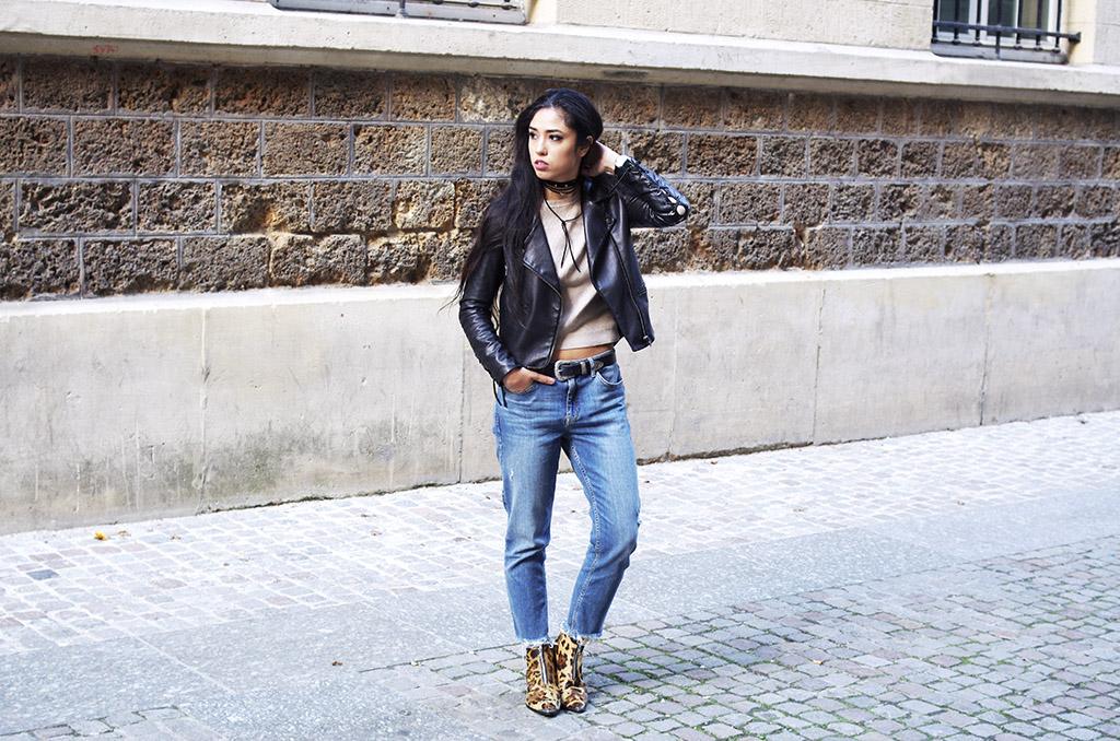 Elizabeth l Leopard boots trend outfit blog mode l THEDEETSONE l Asos Zara l http://thedeetsone.blogspot.fr
