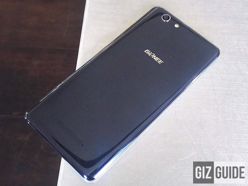 Gionee Elife S Plus back