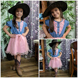 Pink Cowgirl Dress