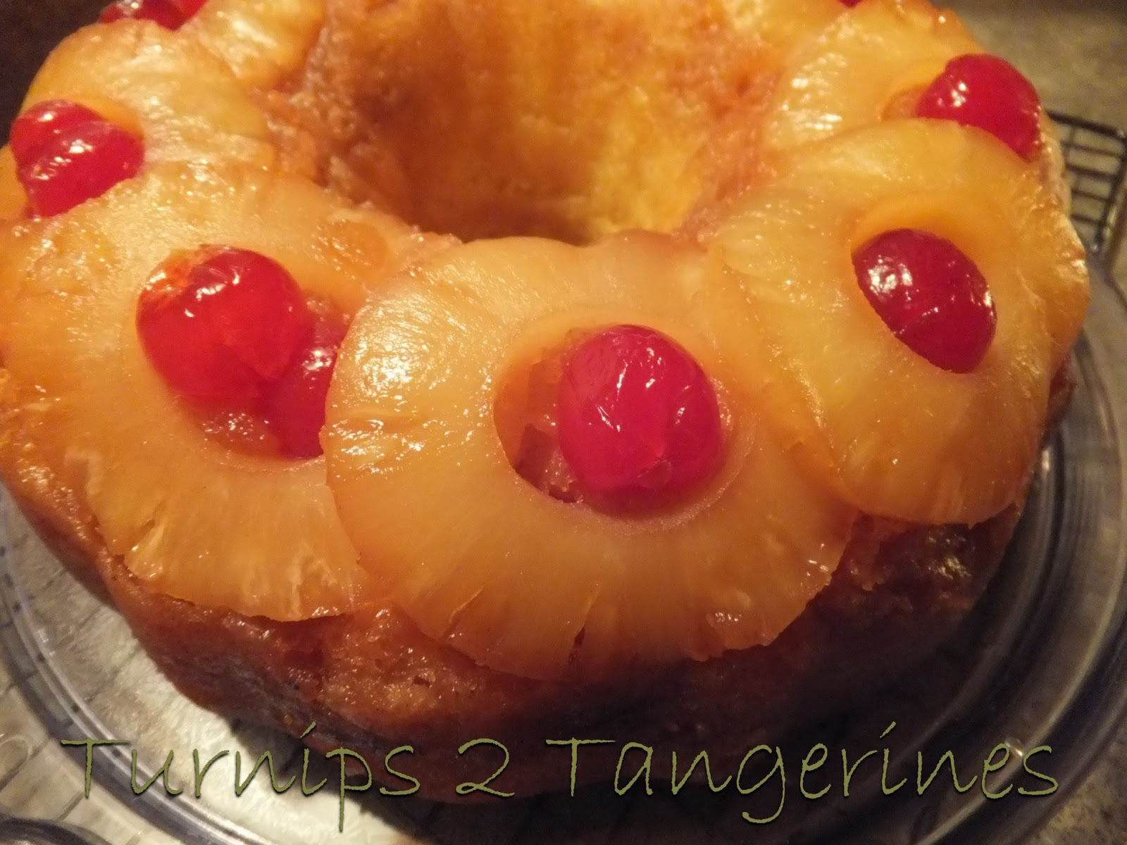 Pineapple Upside Down Bundt Cake Using Cake Mix