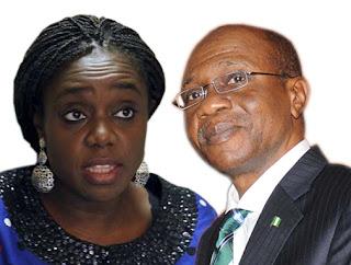 Kemi Adeosun and Godwin Emefiele