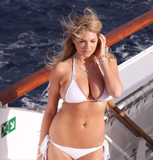 Kate Upton Sports Illustrated Bikini Photoshoot Candids In