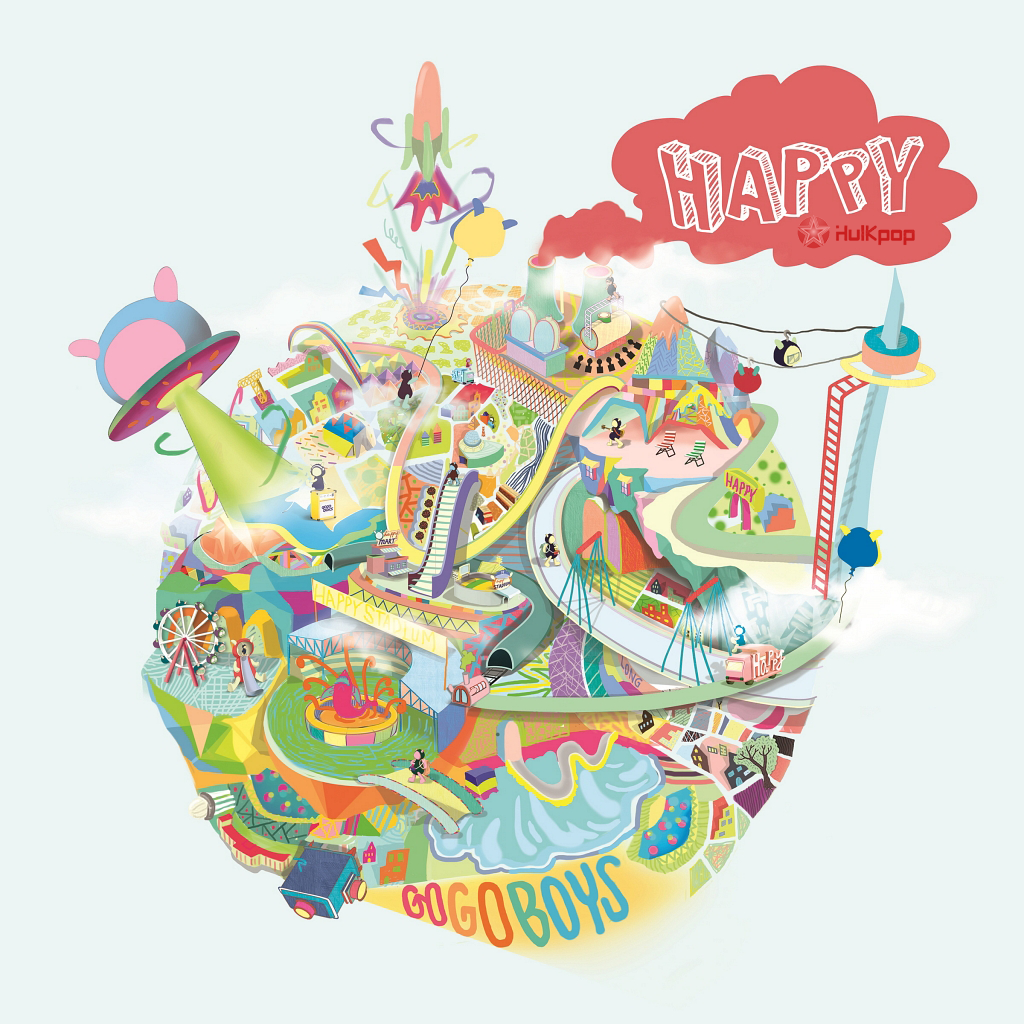 GOGOBOYS – Vol.2 Happy