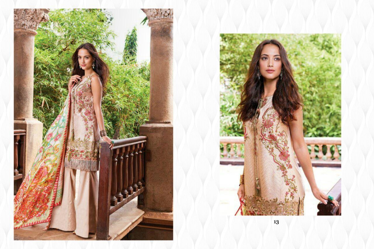 Crescent Vol 3 – Latest Semi Stitched Fashionble Salwar Kameez