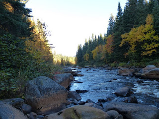 Rivière Montmorency (Québec - Canada)