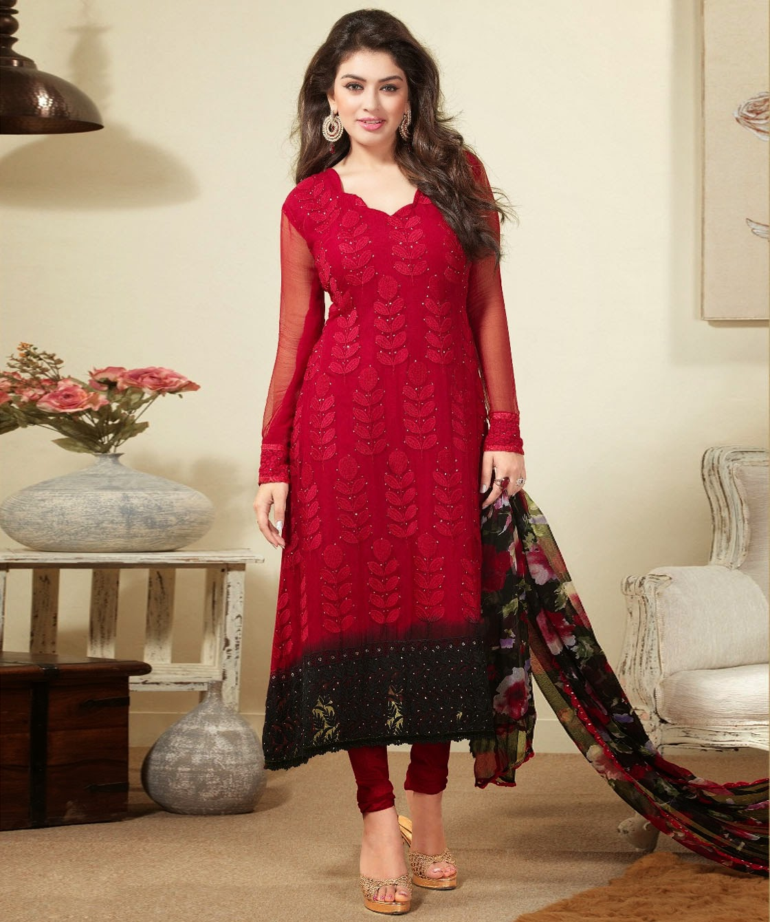 Simple Salwar Kameez Designs 2014 15 Girls Simple Salwar