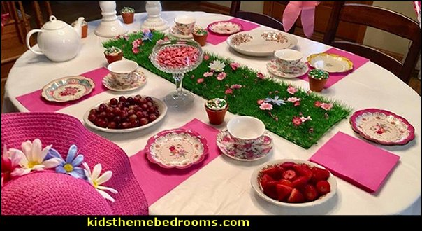 Party Table Decorations Table Decor Flower Placemat