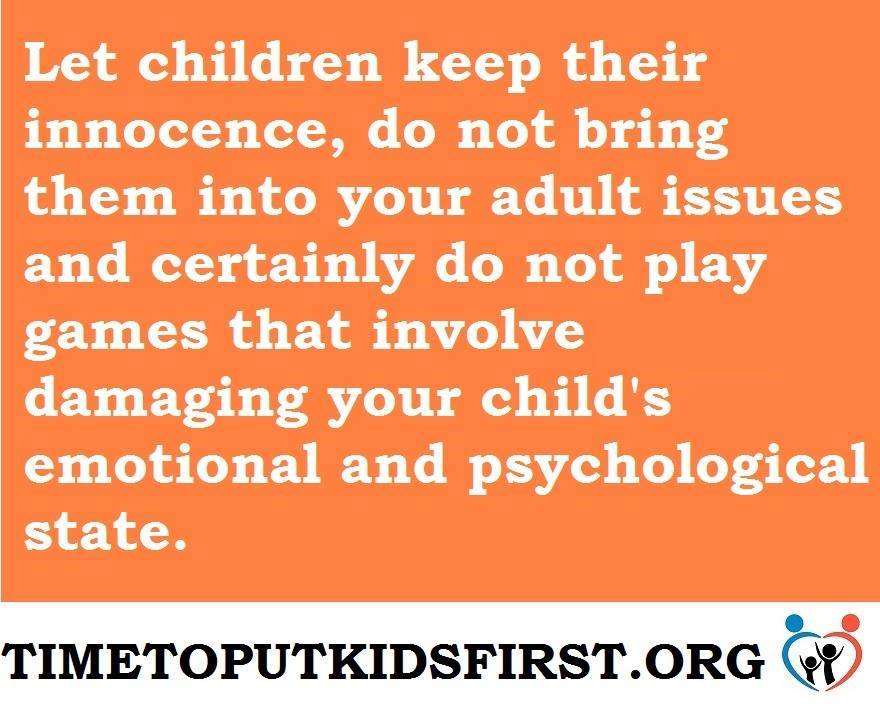 child affected by parental relationship distress