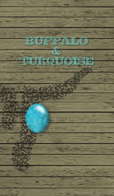 BUFFALO & TURQUOISE -cool-